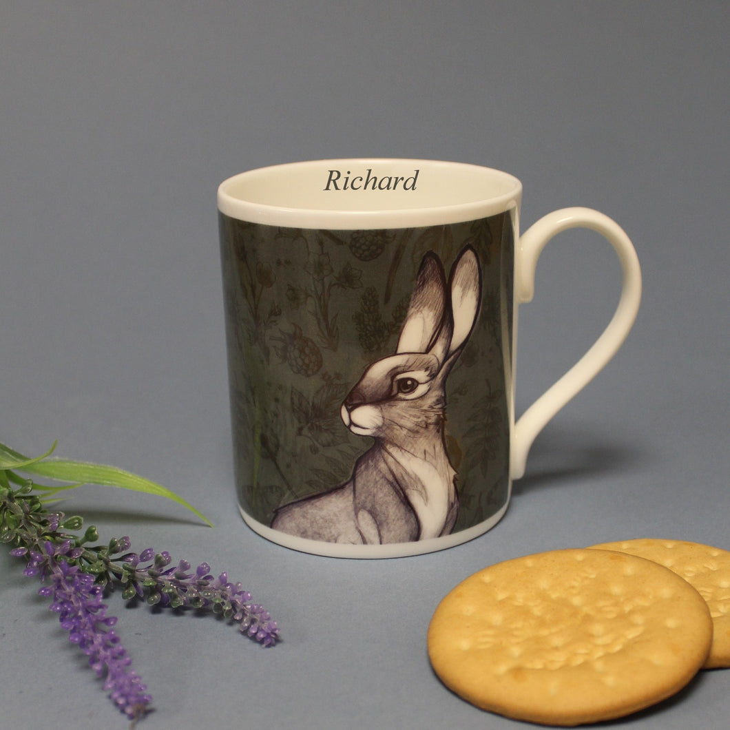 Watership Down Chunky Personalised Balmoral Mug - Hazel