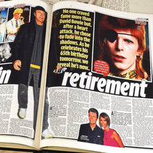 Load image into Gallery viewer, Personalised David Bowie Luxury Pictorial Edition Newspaper Book