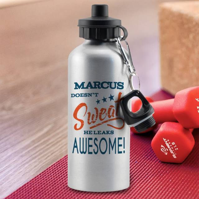 Personalised Sports Water Bottle