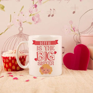 Personalised Big Sister Mug