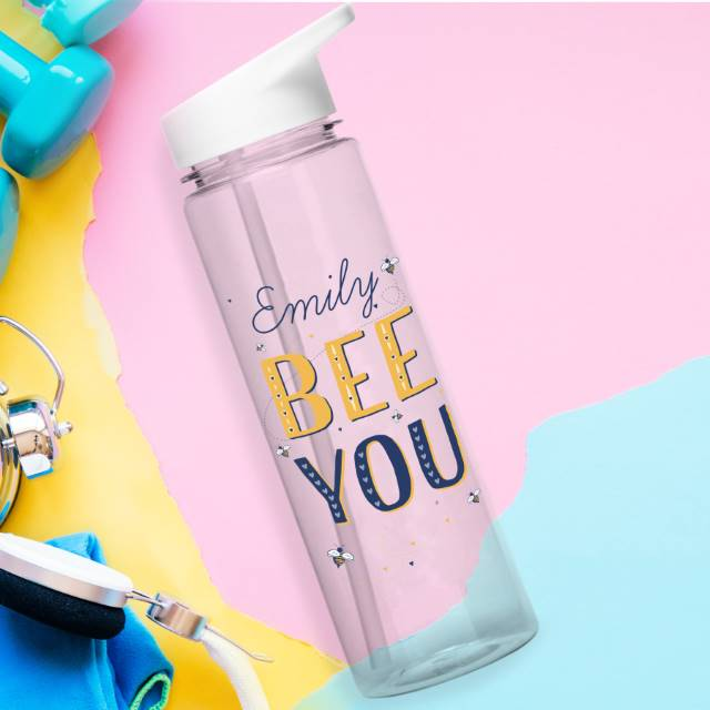Personalised Bee You BPA Free Water Bottle