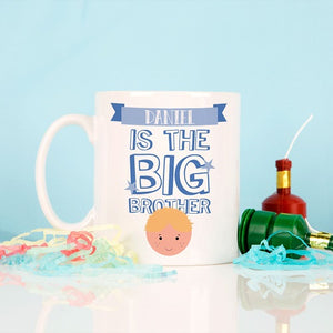 Personalised Big Brother Mug