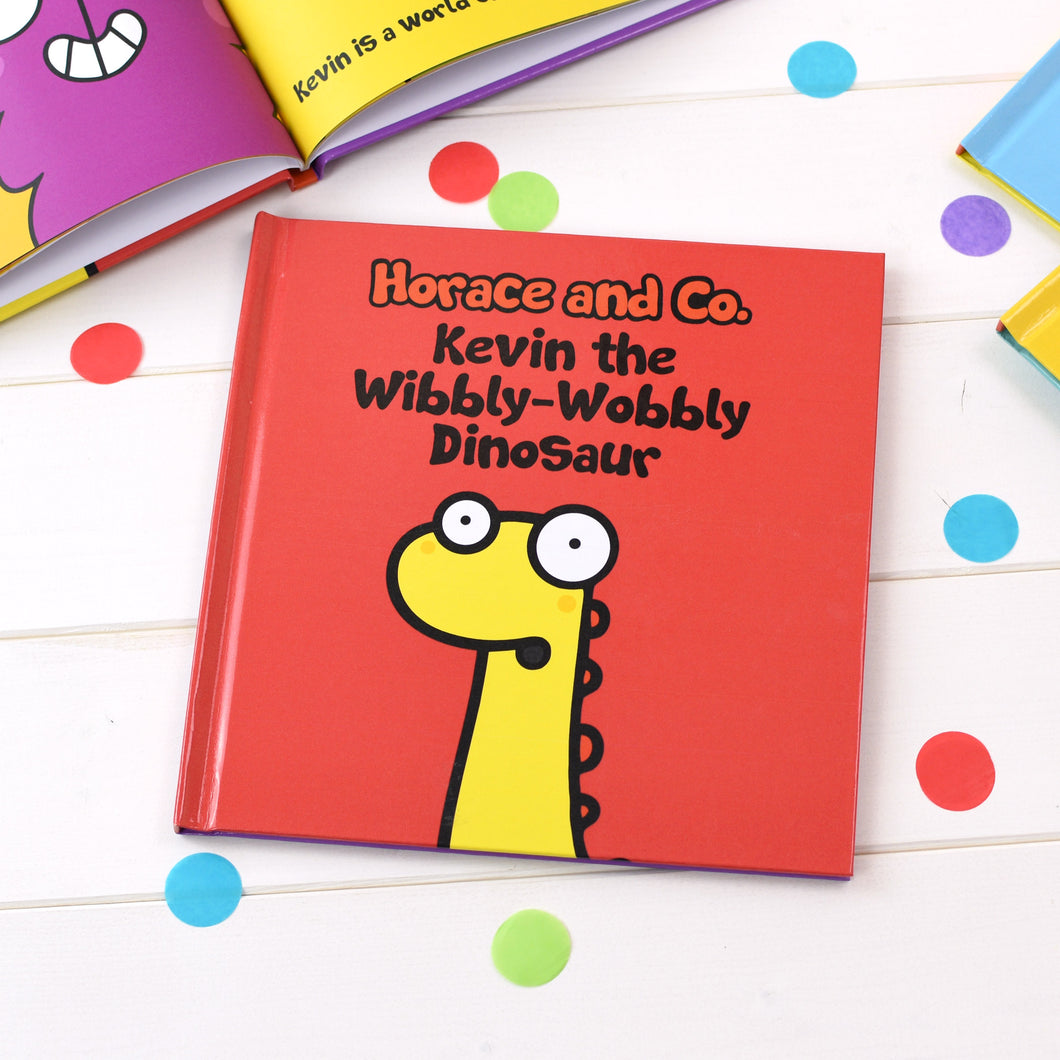 Flossy and Jim The Wibbly-Wobbly Dinosaur Personalised Book