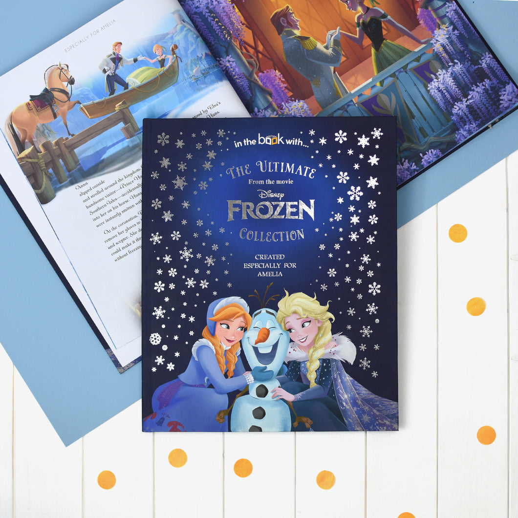 The Ultimate Frozen Story Collection Personalised Book