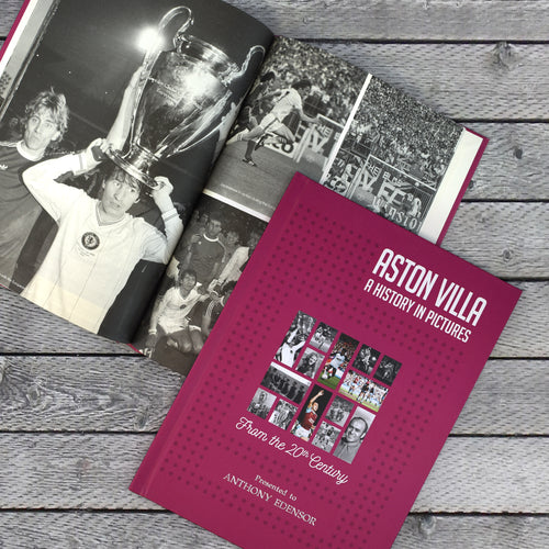 Personalised Aston Villa F.C. Picture History Book