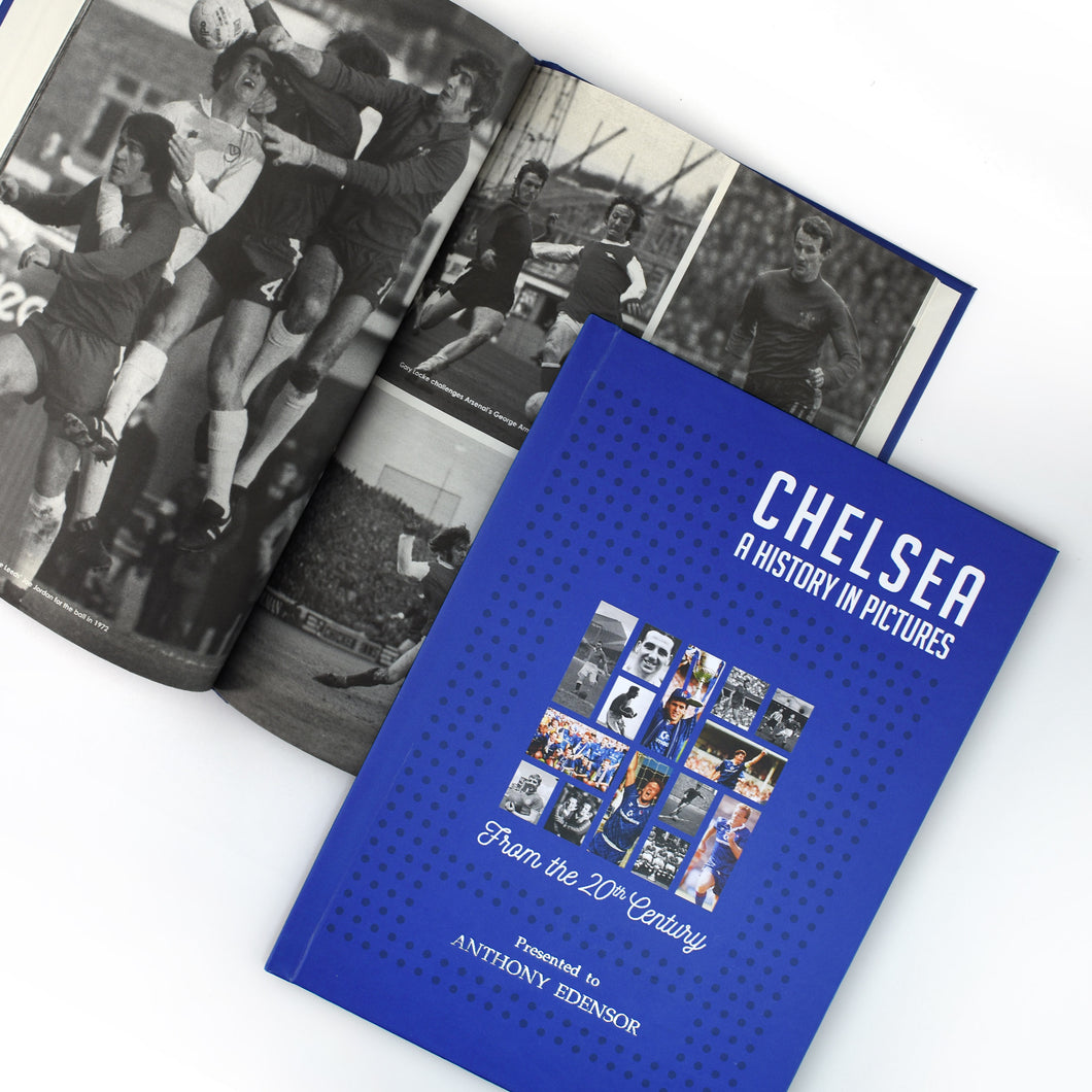 Personalised Chelsea F.C. Picture History Book