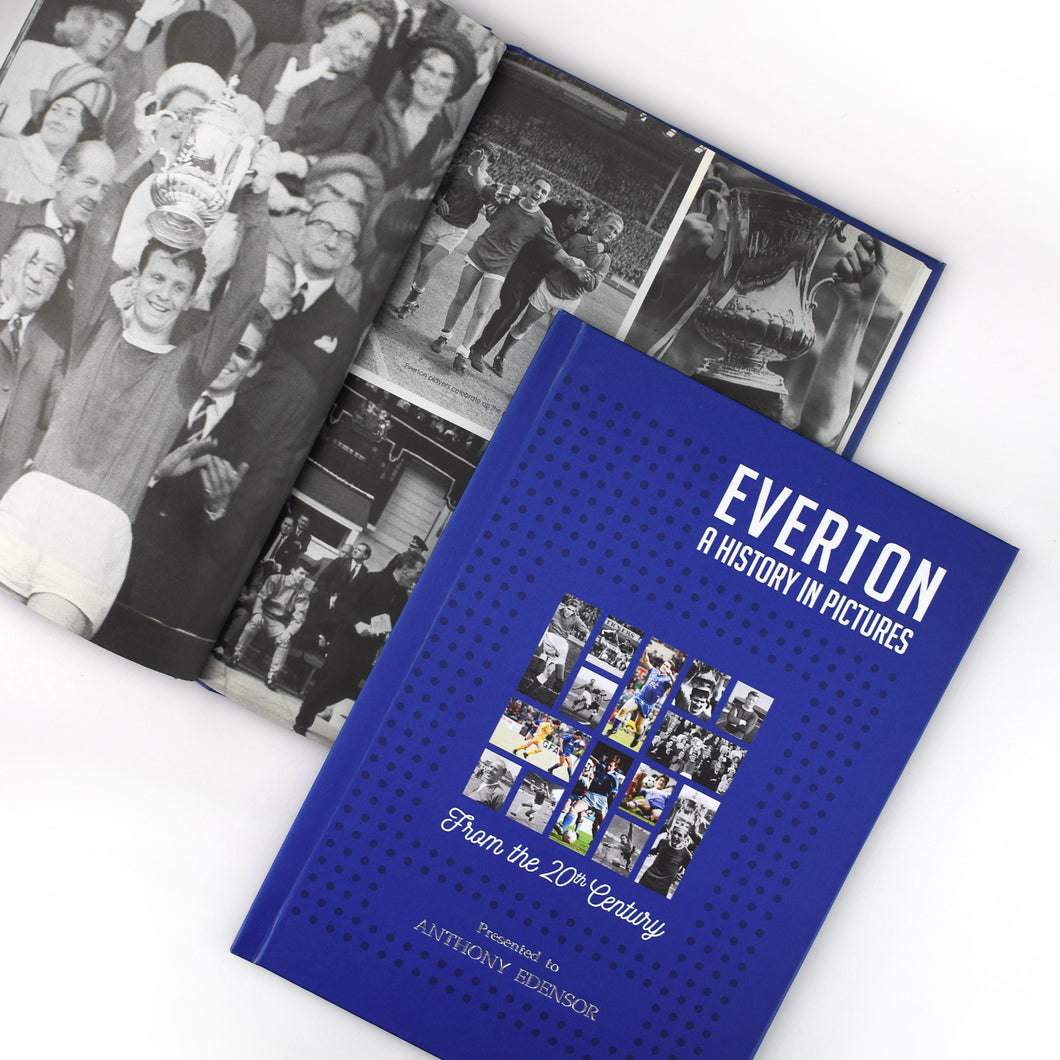 Personalised Everton F.C. Picture History Book