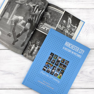 Personalised Manchester City F.C. Picture History Book
