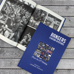 Personalised Rangers F.C. Picture History Book