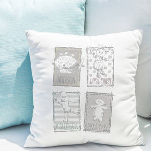 Personalised Magic Garden In The Night Garden Cushion