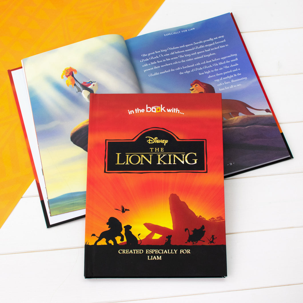 Lion King Premium Personalised Book