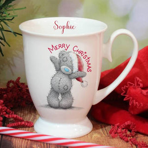 Personalised Me To You Merry Christmas Marquee Mug
