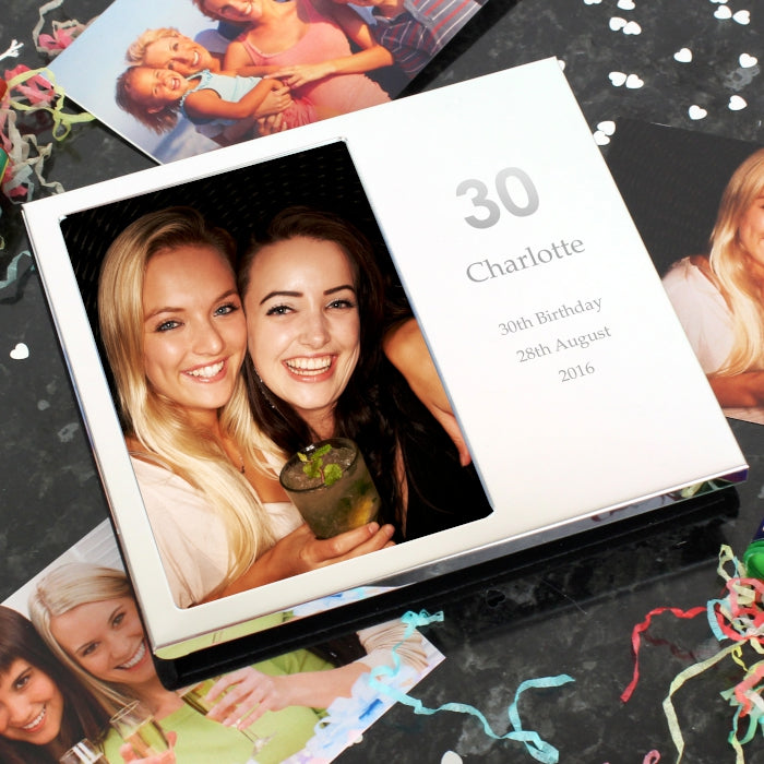 Personalised Any Age Photo Album 4x6