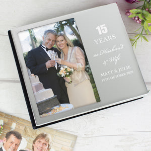 Personalised Any Anniversary Photo Album 4x6