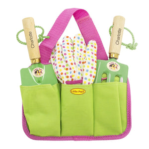 Personalised Pink Gardening Tool Kit