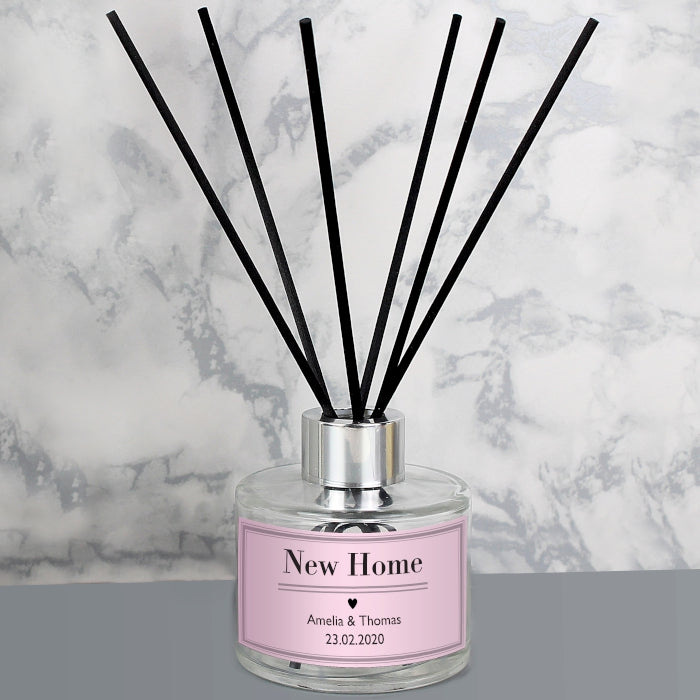 Personalised Glass Reed Diffuser