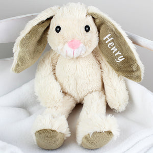 Personalised Cuddly Bunny