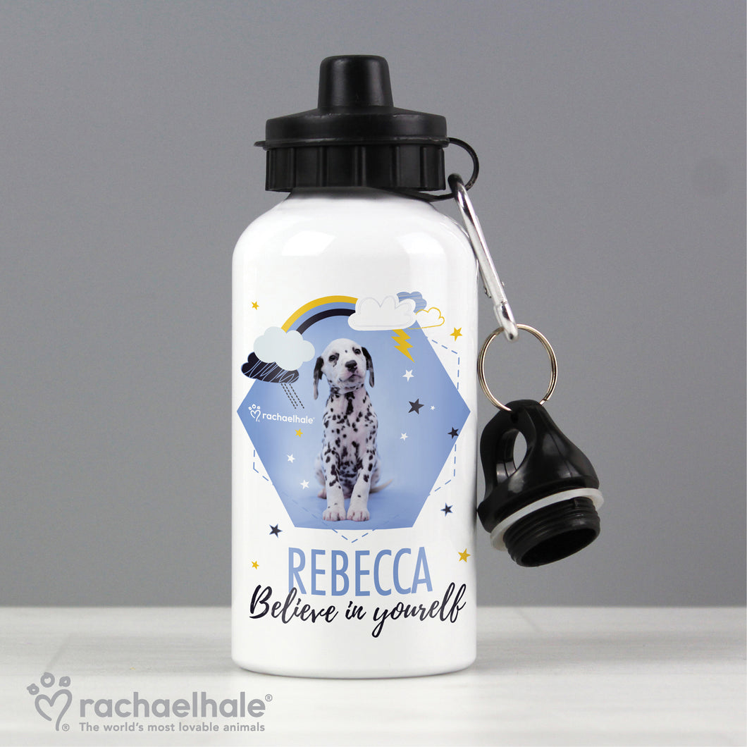 Personalised Rachael Hale Dalmation Aluminium Drink / Water Bottle