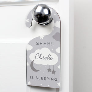 Personalised Moon & Stars Door Hanger