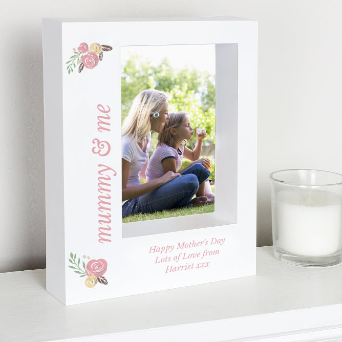 Mummy & Me Personalised Box Photo Frame