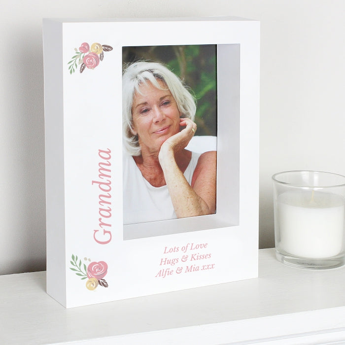 Personalised Grandma Box Photo Frame