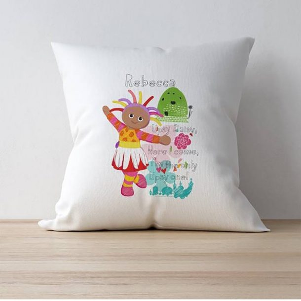 Personalised Upsy Daisy In The Night Garden Cushion