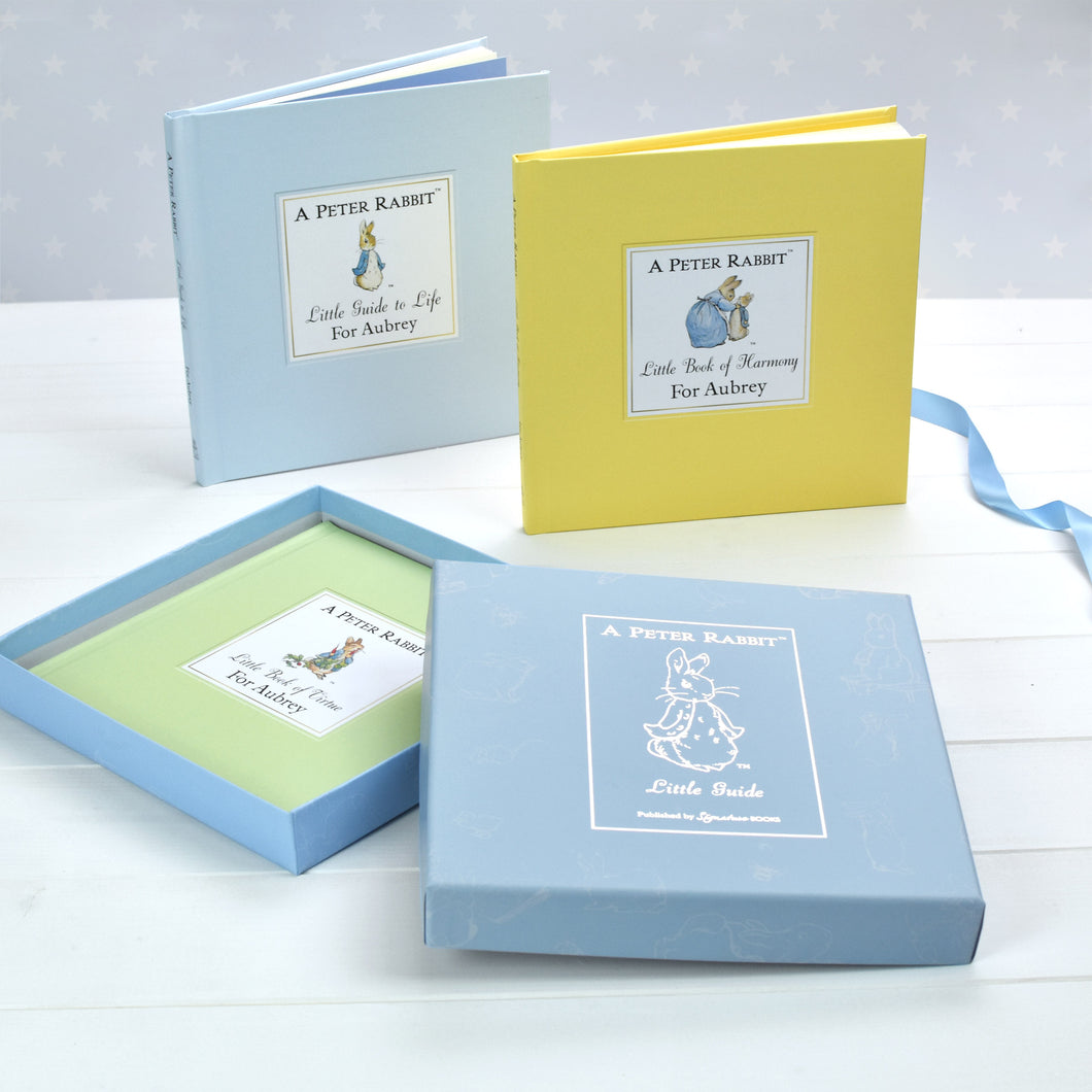 Personalised Peter Rabbit Triple Book Gift Set