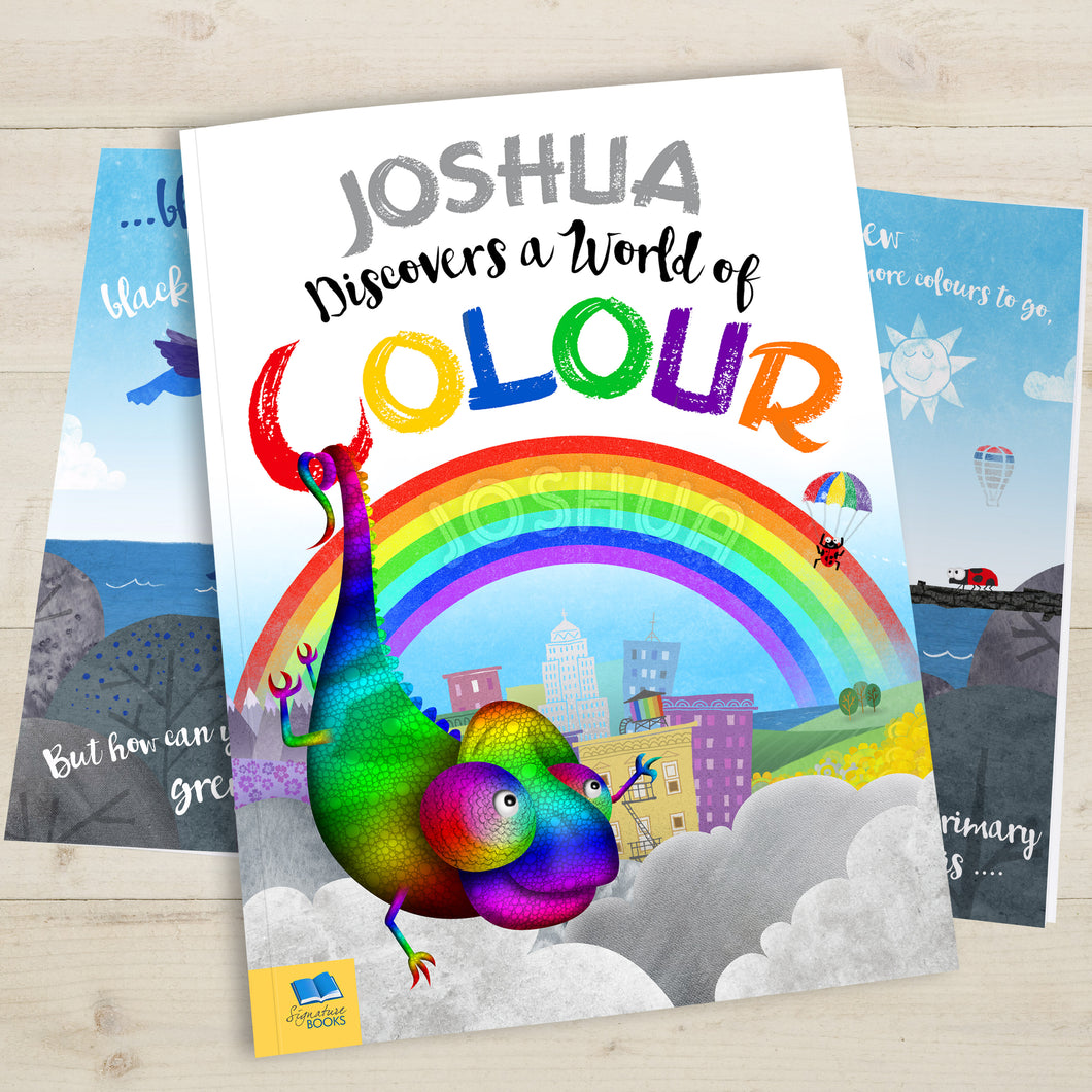 Personalised World Of Colour Book