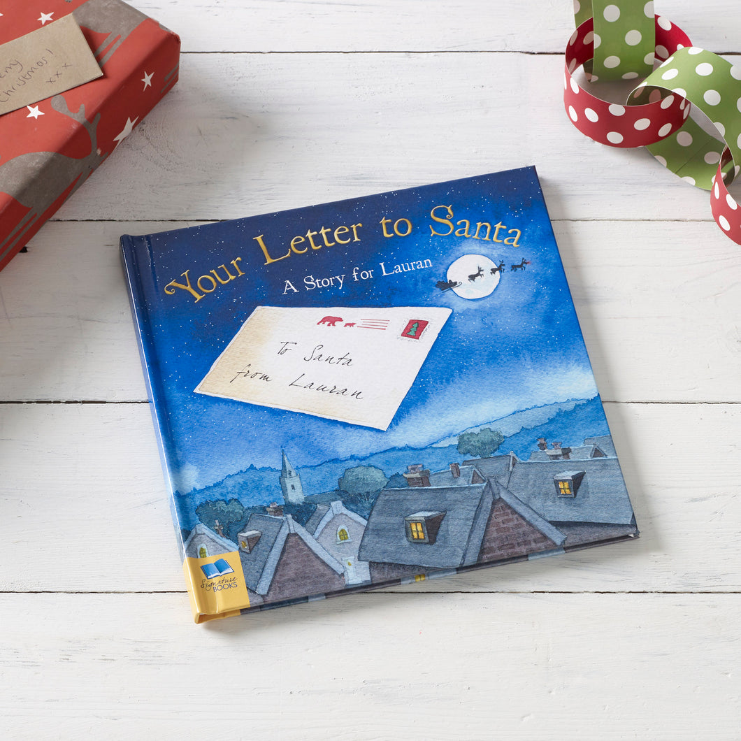 Your Letter To Santa Personalised Book