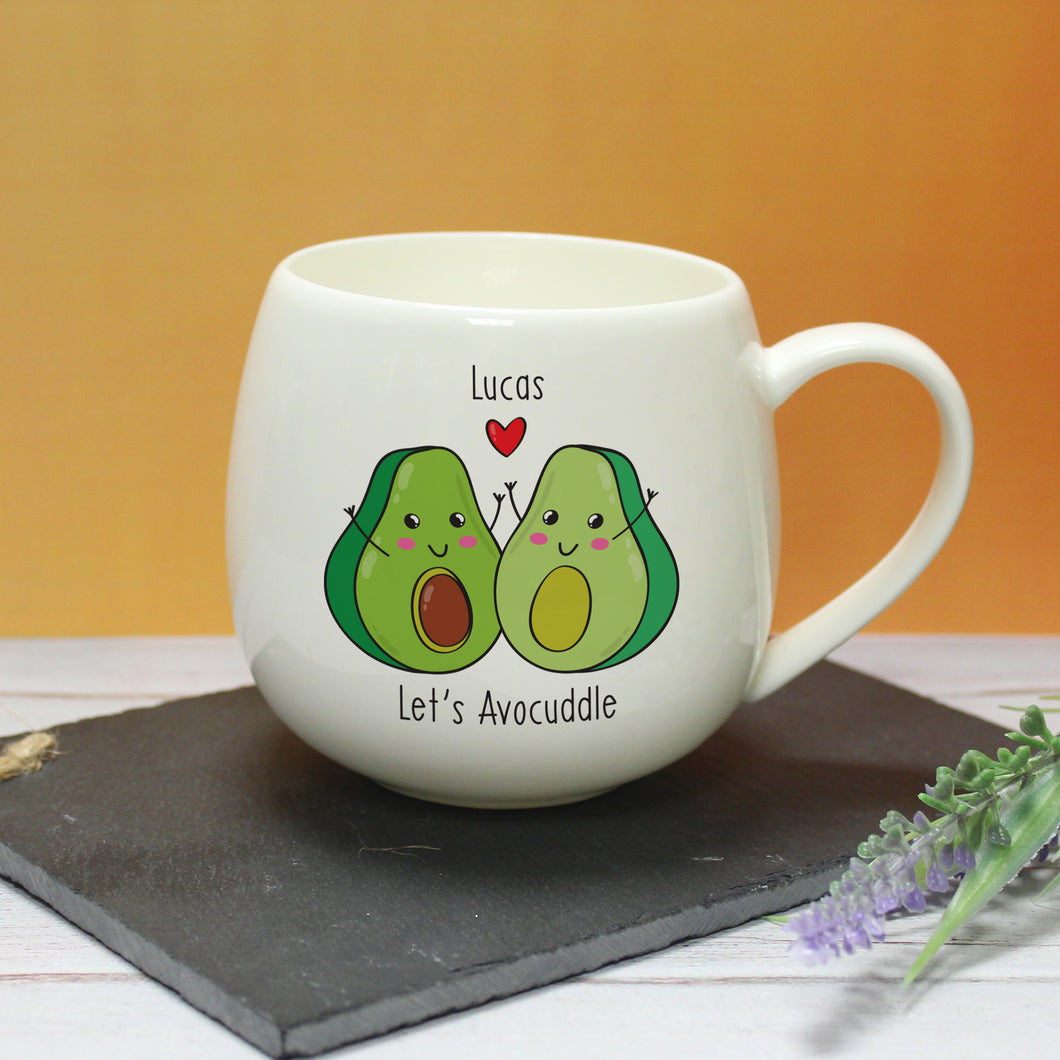 Personalised Let's Aco-cuddle Mug