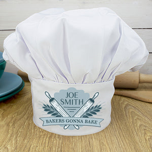 Personalised Bakers Gonna Bake Fun Chef's Hat