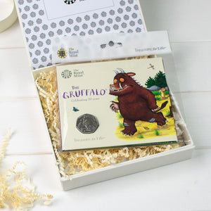 Uncirculated Gruffalo 50p In Personalised Royal Mint Gift Box