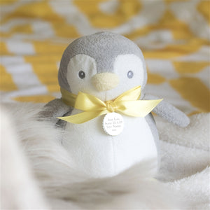Personalised Cuddly Toy Penguin
