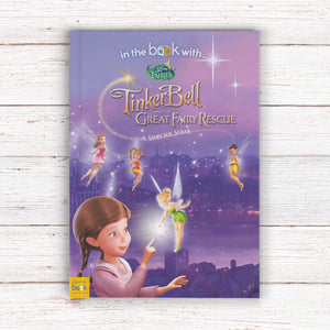 Tinkerbell & The Great Fairy Rescue - Disney Licensed Personalised Book