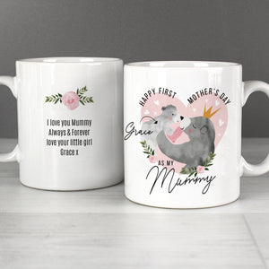 Personalised First Mother's Day Mama Bear Mug