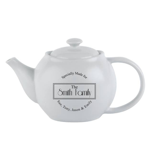 Personalised Specially Made For Teapot