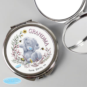 Personalised Me To You Flowers & Bees Compact Mirror