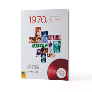 Personalised 1970s A History Of Music Book