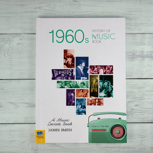 Personalised 1960s A History Of Music Book