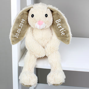 Personalised Cuddly Bunny Soft Toy