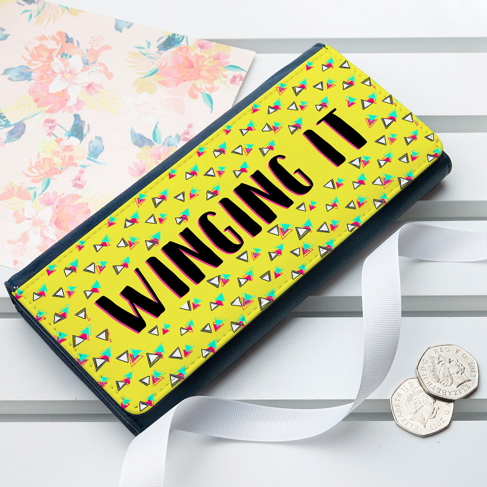 80's Inspired 'Winging It' Ladies Purse In Gift Box