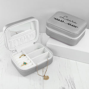 Personalised Jewellery Travel Case