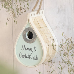 Personalised Bird House