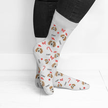 Load image into Gallery viewer, Personalised Christmas Pet Photo Socks