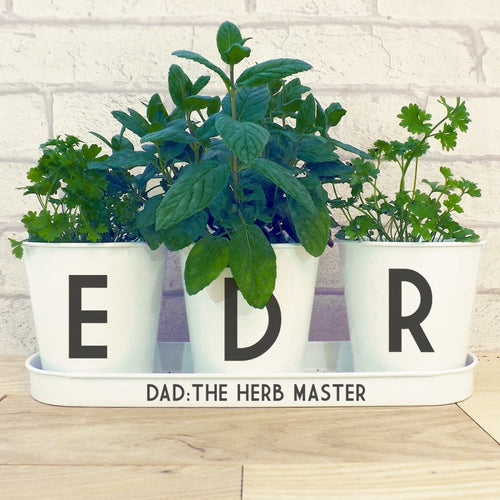 Personalised Indoor Herb Planter