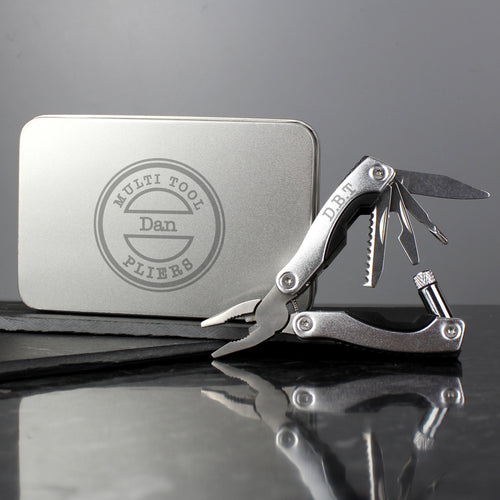 Personalised Multi Tool Pliers and Gift Tin