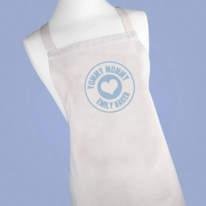 Personalised Yummy Mummy Cotton Apron