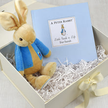 Load image into Gallery viewer, Peter Rabbit Guide to Life Personalised Book & Plush Toy Gift Set