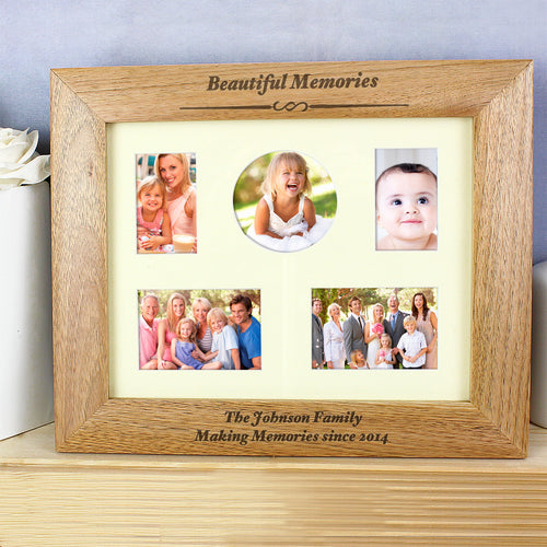 Personalised Beautiful Memories Photo Frame