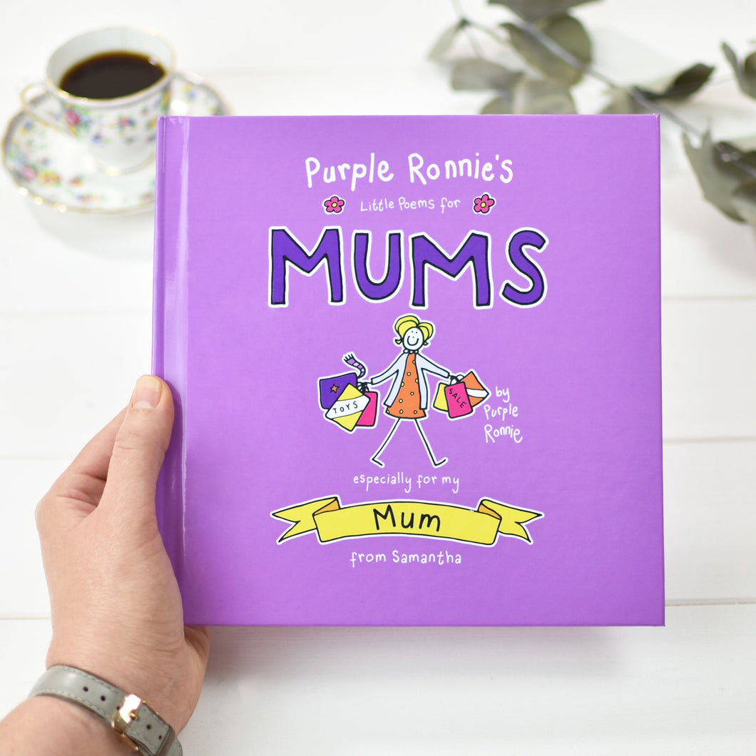 Purple Ronnie's Little Poems for Mums Personalised Book